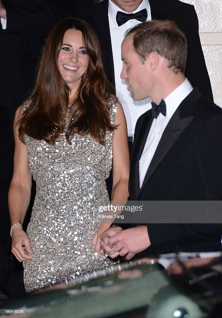 Catherine, Duchess of Cambridge and <a gi-track='captionPersonalityLinkClicked' href=/galleries/search?phrase=Prince+William&family=editorial&specificpeople=178205 ng-click='$event.stopPropagation()'>Prince William</a>, Duke of Cambridge attend the Tusk Trust Conservation Awards at The Royal Society on September 12, 2013 in London, England.