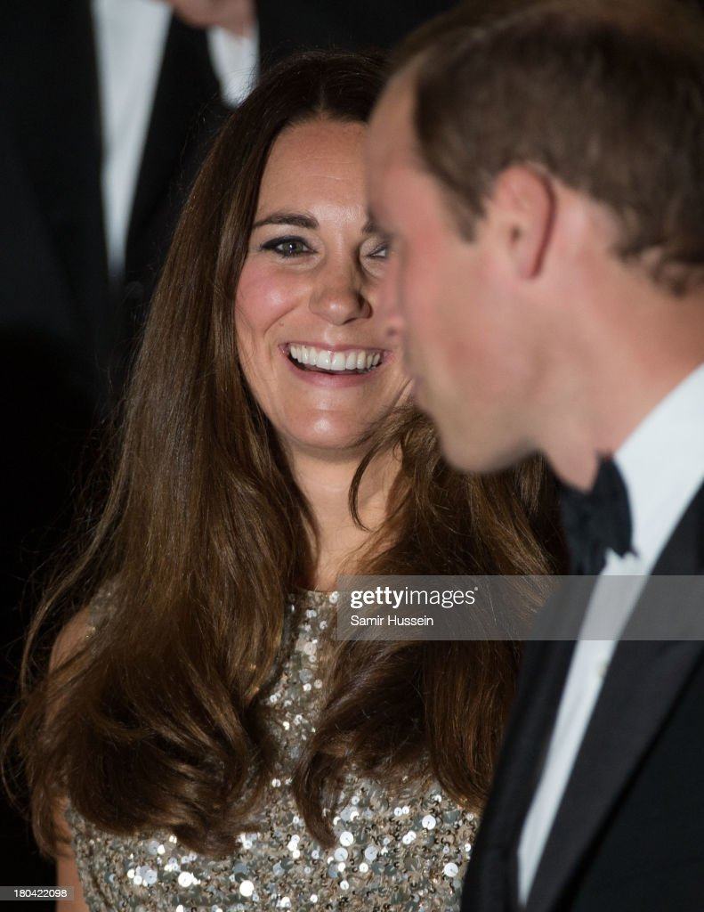 Catherine, Duchess of Cambridge and Prince William, Duke of Cambridge attend the Tusk Trust Conservation Awards at The Royal Society on September 12, 2013 in London, England.