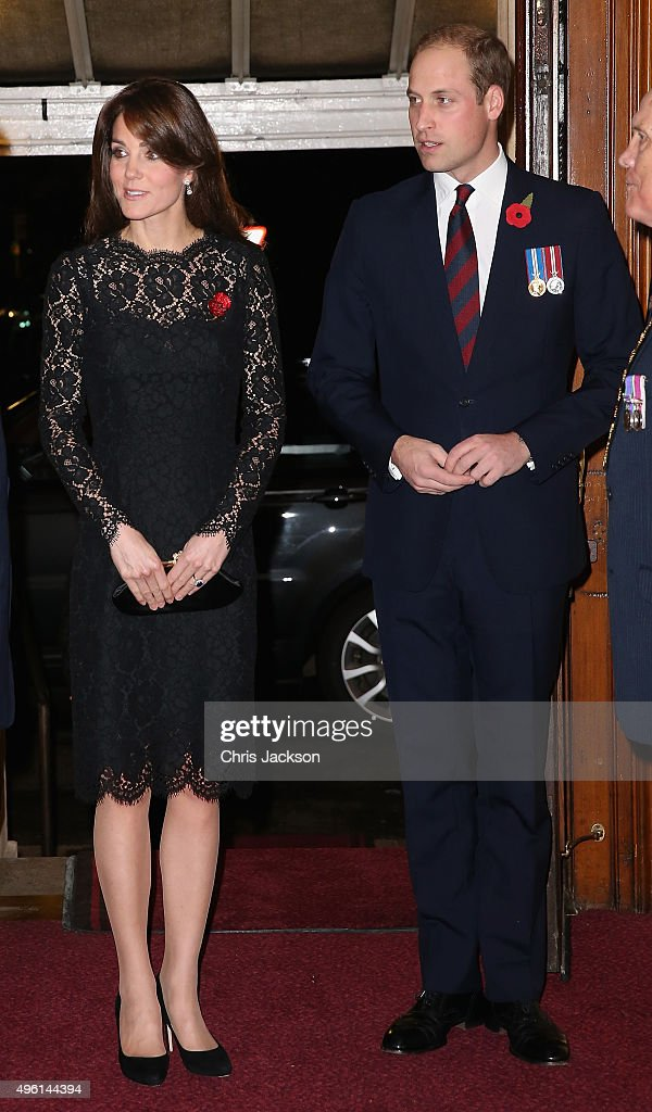 The Royal Family Attend The Annual Festival Of Remembrance ...
