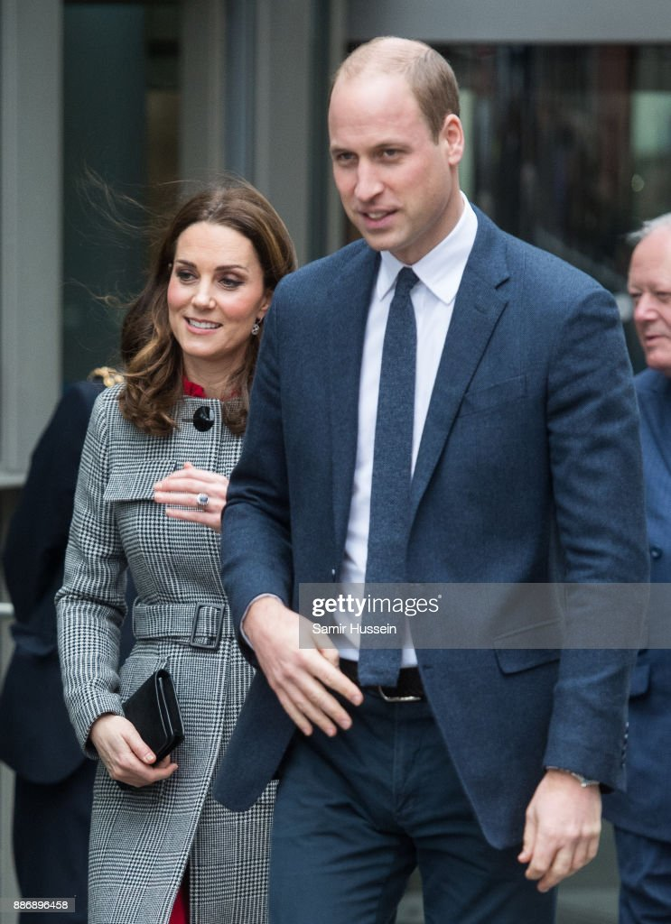 The Duke And Duchess Of Cambridge Attend Children's Global Media Summit