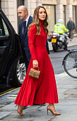 The Duchess Of Cambridge Makes Keynote Speech To Launch...
