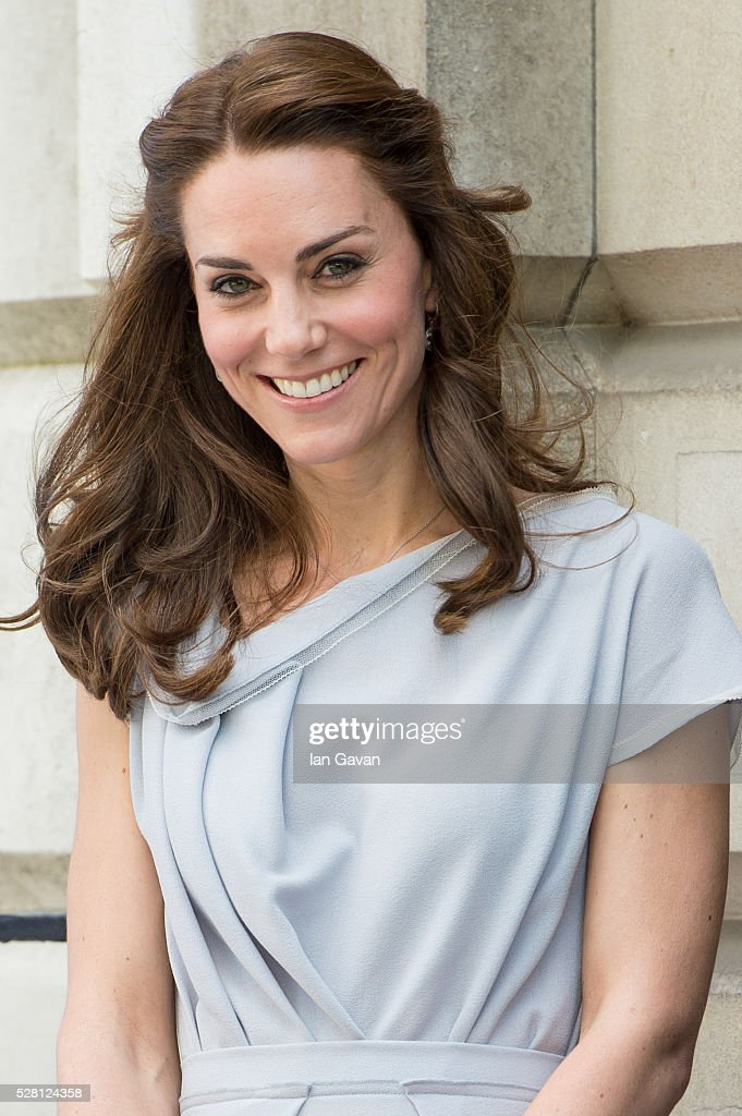 Catherine, Duchess of Cambridge arrives at the Anna Freud Centre on May 4, 2016 in London, England.