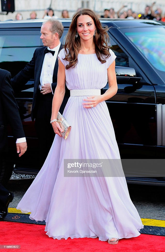 <a gi-track='captionPersonalityLinkClicked' href=/galleries/search?phrase=Catherine+-+Duchesse+de+Cambridge&family=editorial&specificpeople=542588 ng-click='$event.stopPropagation()'>Catherine</a>, Duchess of Cambridge arrives at the BAFTA Brits To Watch event held at the Belasco Theatre on July 9, 2011 in Los Angeles, California.