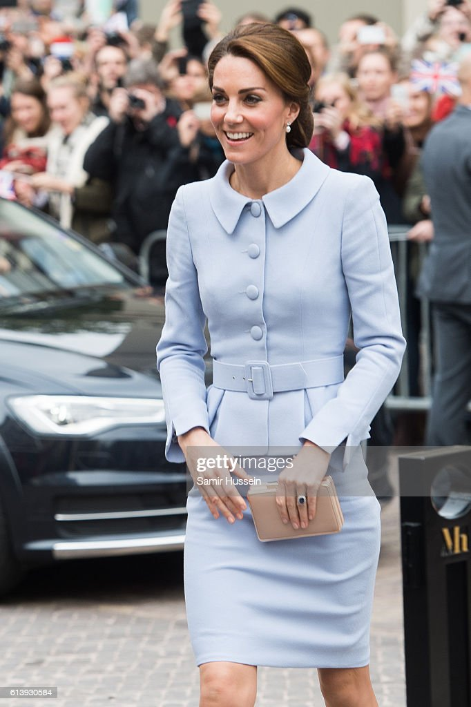 catherine-duchess-of-cambridge-arrives-at-the-mauritshuis-to-view-the-picture-id613930584