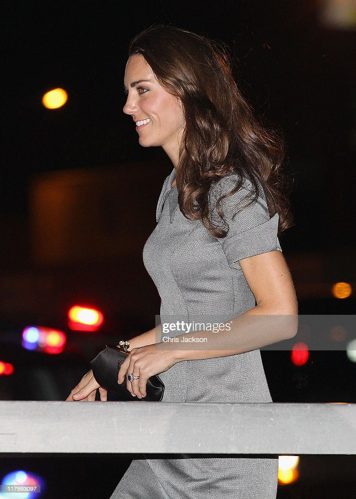 Catherine, Duchess of Cambridge arrives on board HMCS Montreal on July 2, 2011 in Montreal, Canada. The newly married Royal Couple are on the third day of their first joint overseas tour. The 12 day visit to North America will take in some of the more remote areas of the country such as Prince Edward Island, Yellowknife and Calgary. The Royal couple yesterday joined millions of Canadians in taking part in Canada Day celebrations which mark Canada's 144th Birthday.