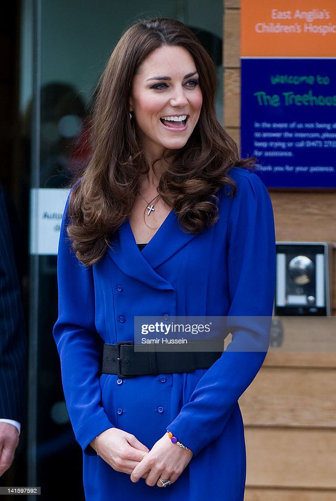 Catherine, Duchess of Cambridge arrives to officially open The Treehouse Children's Hospice on March 19, 2012 in Ipswich, England.