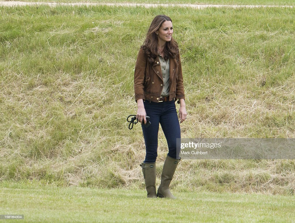 Catherine, Duchess Of Cambridge At The Tusk Charity Polo Match At Beaufort Polo Club Near Tetbury.
