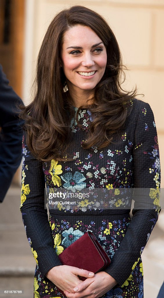 Catherine, Duchess of Cambridge attends a briefing to announce plans for Heads Together ahead of the 2017 Virgin Money London Marathon at ICA on January 17, 2017 in London, England. Heads Together, Charity of the Year 2017, is led by The Duke & Duchess of Cambridge and Prince Harry in partnership with leading mental health charities.