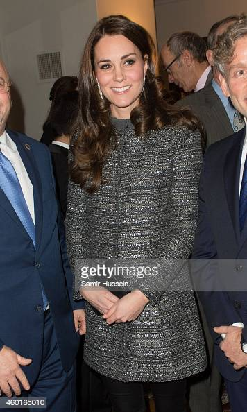 Catherine Duchess of Cambridge attends a conservation reception at British Consul General's Residence on December 8 2014 in New York City