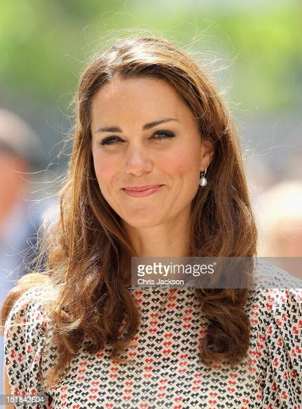 Catherine Duchess of Cambridge attends a cultural event in Queenstown on day 2 of Prince William Duke of Cambridge and Catherine Duchess of...
