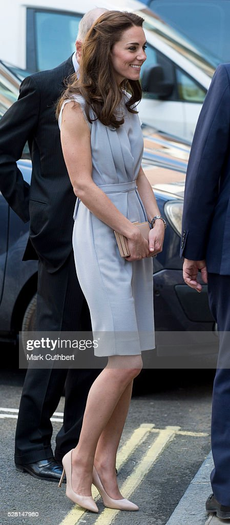 Catherine, Duchess of Cambridge attends a lunch in aid of The Anna Freud Centre on May 4, 2016 in London, England.