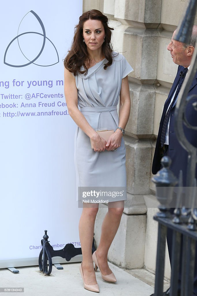 <a gi-track='captionPersonalityLinkClicked' href=/galleries/search?phrase=Catherine+-+Duchesse+de+Cambridge&family=editorial&specificpeople=542588 ng-click='$event.stopPropagation()'>Catherine</a>, Duchess Of Cambridge attends a lunch in support of the Anna Freud Centre at Spencer House on May 04, 2016 in London, England.