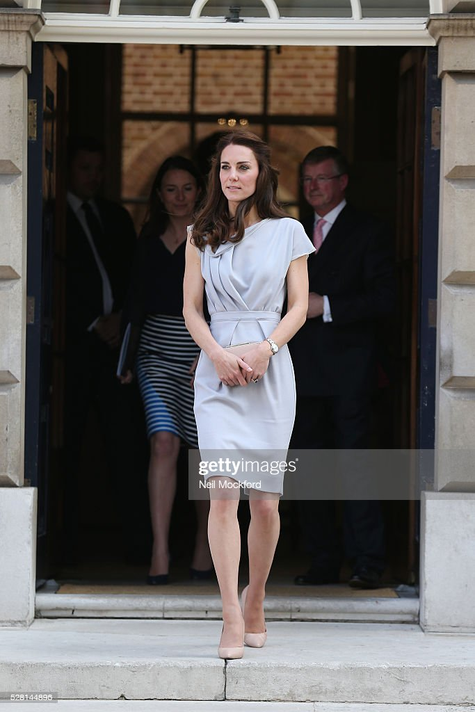<a gi-track='captionPersonalityLinkClicked' href=/galleries/search?phrase=Catherine+-+Duchess+of+Cambridge&family=editorial&specificpeople=542588 ng-click='$event.stopPropagation()'>Catherine</a>, Duchess Of Cambridge attends a lunch in support of the Anna Freud Centre at Spencer House on May 04, 2016 in London, England.