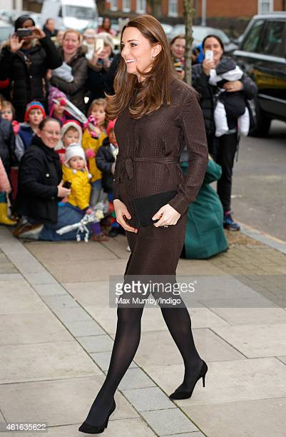 Catherine Duchess of Cambridge attends an event hosted by The Fostering Network to celebrate the work of foster carers in providing support to...