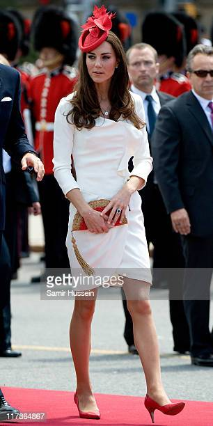 Catherine Duchess of Cambridge attends Canada Day Celebrations at Parliament Hill on day 2 of the Royal Couple's North American Tour on July 1 2011...
