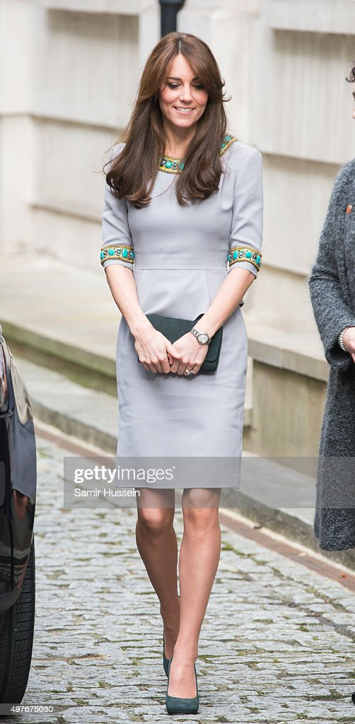 Catherine, Duchess of Cambridge attends Place2Be Headteacher Conference at Bank of America Merrill Lynch on November 18, 2015 in London, England.