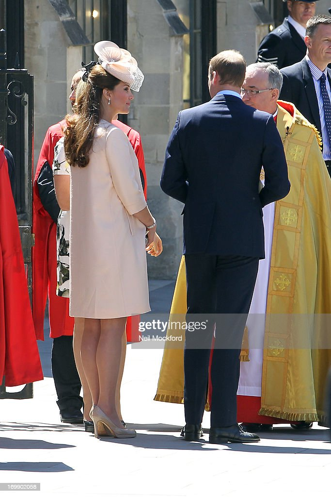 <a gi-track='captionPersonalityLinkClicked' href=/galleries/search?phrase=Catherine+-+Duchess+of+Cambridge&family=editorial&specificpeople=542588 ng-click='$event.stopPropagation()'>Catherine</a>, Duchess of Cambridge attends service marking the 60th anniversary of the Queen's coronation at Westminster Abbey on June 4, 2013 in London, England.