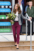 GBR: The Duke And Duchess Of Cambridge Attend Shout's Crisis Volunteer Celebration Event