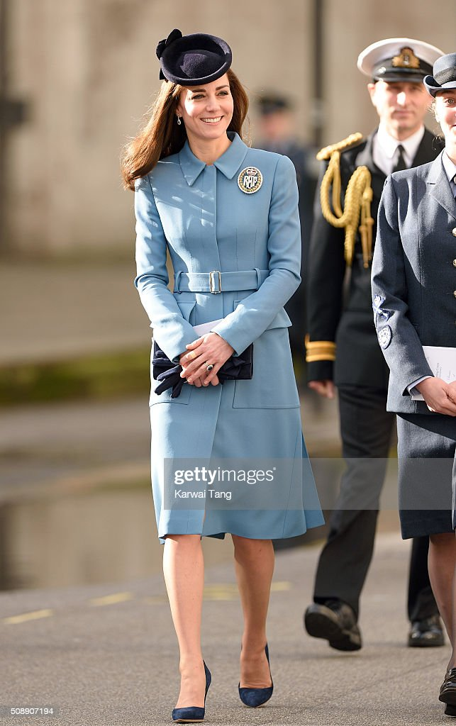<a gi-track='captionPersonalityLinkClicked' href=/galleries/search?phrase=Catherine+-+Duchess+of+Cambridge&family=editorial&specificpeople=542588 ng-click='$event.stopPropagation()'>Catherine</a>, Duchess of Cambridge attends the 75th anniversary of the RAF Air Cadets at St Clement Danes Church on February 7, 2016 in London, England.