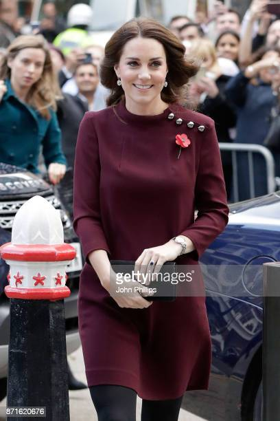 Catherine Duchess Of Cambridge attends the annual Place2Be School Leaders Forum at UBS London on November 8 2017 in London England Catherine Duchess...