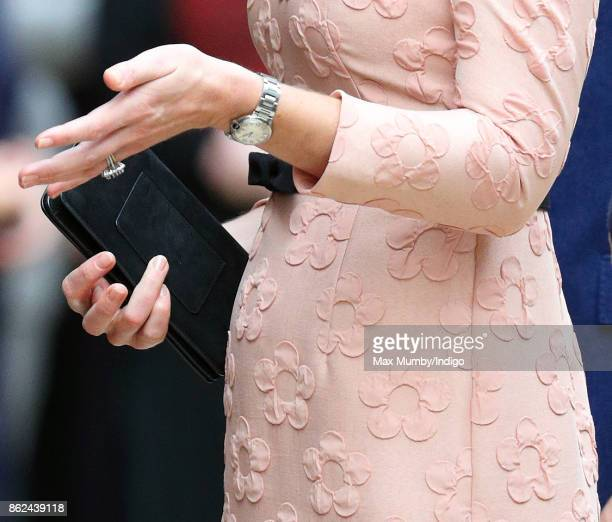 Catherine Duchess of Cambridge attends the Charities Forum Event at Paddington Station on October 16 2017 in London England