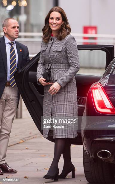 Catherine Duchess of Cambridge attends the Children's Global Media Summit at Manchester Central Convention Complex on December 6 2017 in Manchester...