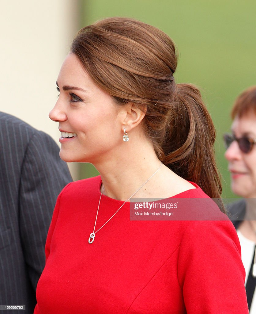 Catherine, Duchess of Cambridge attends the East Anglia's Children's Hospices (EACH) Norfolk Capital Appeal launch event at the Norfolk Showground on November 25, 2014 in Norwich, England.