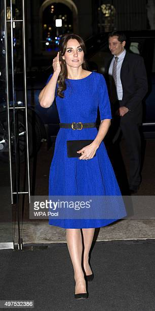Catherine Duchess of Cambridge attends the Fostering Network's Fostering Excellence Awards at BMA House on November 17 2015 in London England Her...