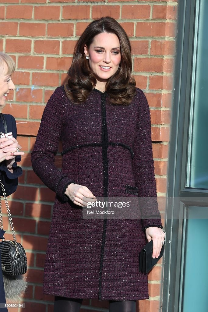 The Duchess Of Cambridge Attends 'Magic Mums' Christmas Party