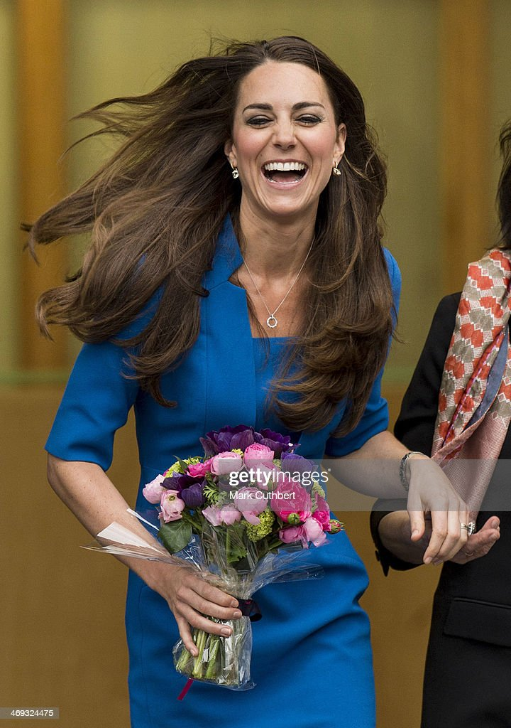 <a gi-track='captionPersonalityLinkClicked' href=/galleries/search?phrase=Catherine+-+Duchess+of+Cambridge&family=editorial&specificpeople=542588 ng-click='$event.stopPropagation()'>Catherine</a>, Duchess of Cambridge attends the opening of the ICAP Art Room at Northolt High School on February 14, 2014 in Ealing, England.