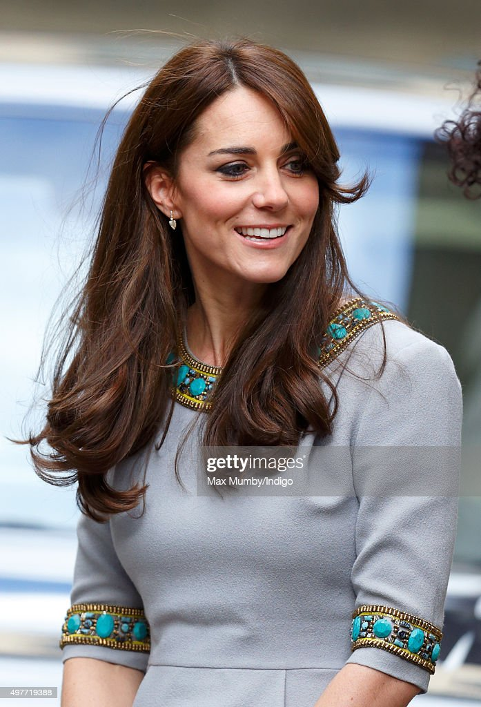 Catherine, Duchess of Cambridge attends the Place2Be Headteacher Conference at Bank of America Merrill Lynch on November 18, 2015 in London, England. The Duchess was attending as patron of the charity and as part of her ongoing work on the mental health of children.