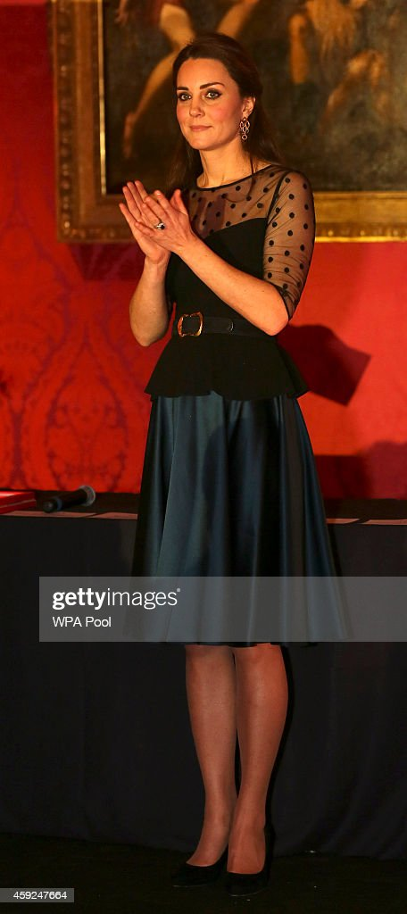 Catherine, Duchess of Cambridge attends the Place2be Wellbeing in Schools Awards Reception at Kensington Palace on November 19, 2014 in London, England.
