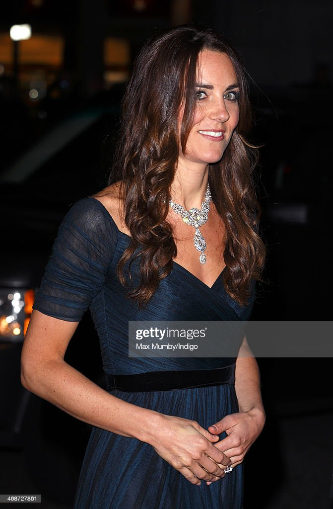 <a gi-track='captionPersonalityLinkClicked' href=/galleries/search?phrase=Catherine+-+Duchess+of+Cambridge&family=editorial&specificpeople=542588 ng-click='$event.stopPropagation()'>Catherine</a>, Duchess of Cambridge attends The Portrait Gala 2014: Collecting to Inspire at the National Portrait Gallery on February 11, 2014 in London, England.