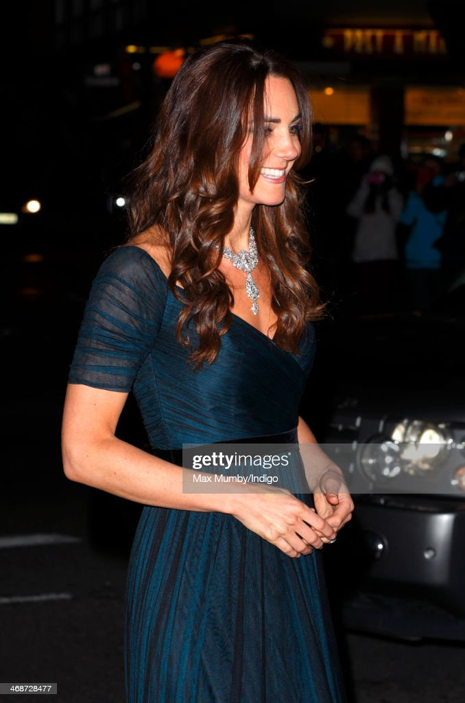 Catherine, Duchess of Cambridge attends The Portrait Gala 2014: Collecting to Inspire at the National Portrait Gallery on February 11, 2014 in London, England.