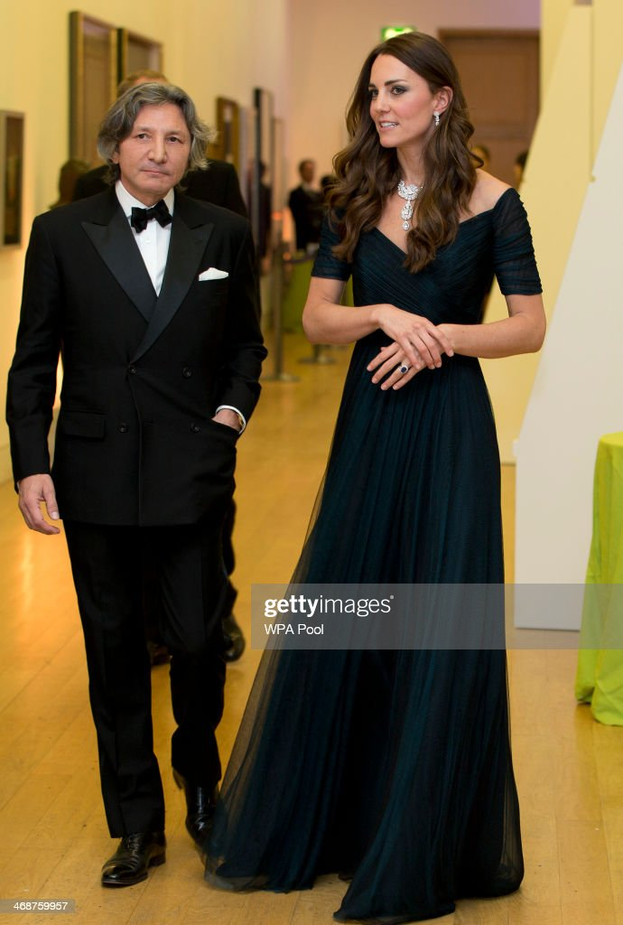 Catherine, Duchess of Cambridge attends The Portrait Gala 2014: Collecting To Inspire at National Portrait Gallery on February 11, 2014 in London, England.
