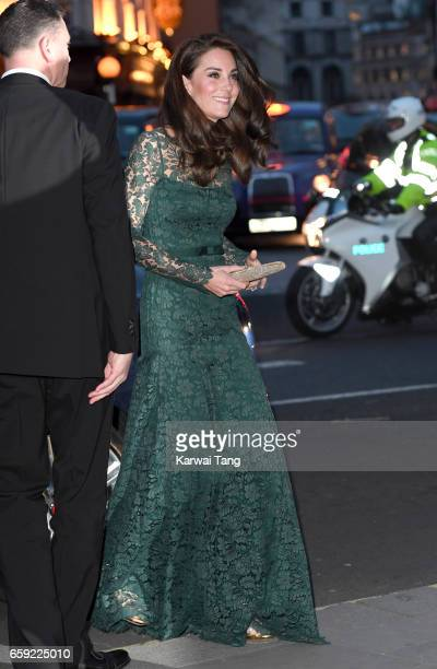Catherine Duchess of Cambridge attends the Portrait Gala 2017 at the National Portrait Gallery on March 28 2017 in London England
