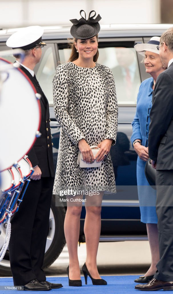 <a gi-track='captionPersonalityLinkClicked' href=/galleries/search?phrase=Catherine+-+Duchess+of+Cambridge&family=editorial&specificpeople=542588 ng-click='$event.stopPropagation()'>Catherine</a>, Duchess of Cambridge attends the Princess Cruises ship naming ceremony at Ocean Terminal on June 13, 2013 in Southampton, England.