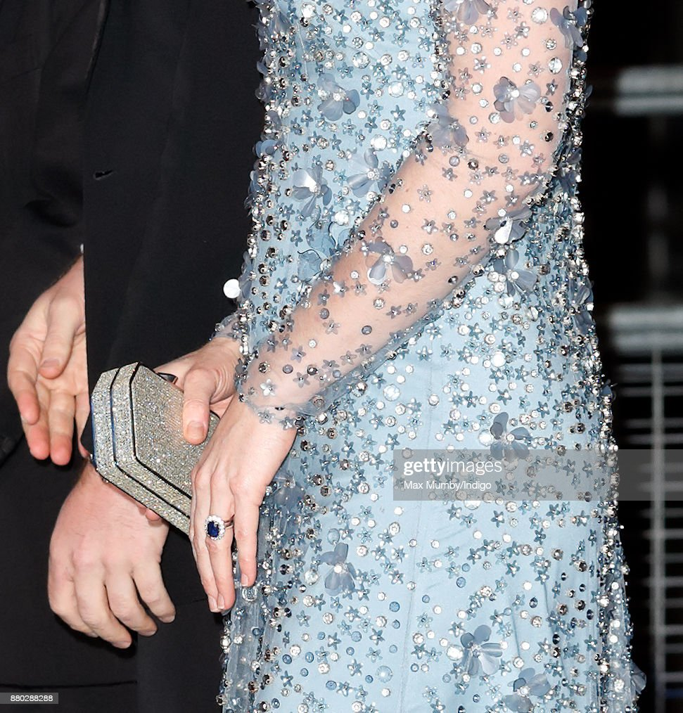 Catherine, Duchess of Cambridge (clutch detail) attends the Royal Variety Performance at the Palladium Theatre on November 24, 2017 in London, England.