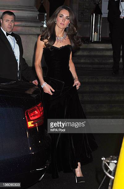 Catherine Duchess of Cambridge attends The Sun Military Awards at Imperial War Museum on December 19 2011 in London England