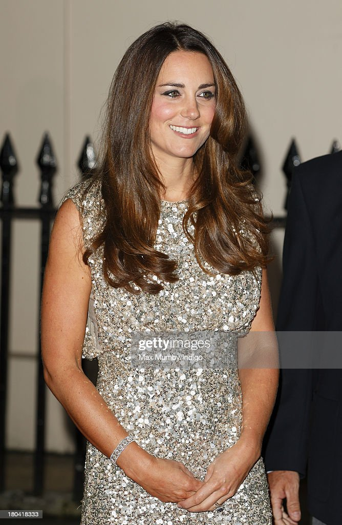 Catherine, Duchess of Cambridge attends the Tusk Conservation Awards at The Royal Society on September 12, 2013 in London, England.