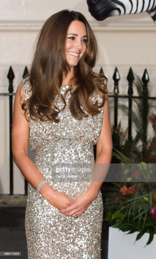 Catherine, Duchess of Cambridge attends the Tusk Trust Conservation Awards at The Royal Society on September 12, 2013 in London, England.