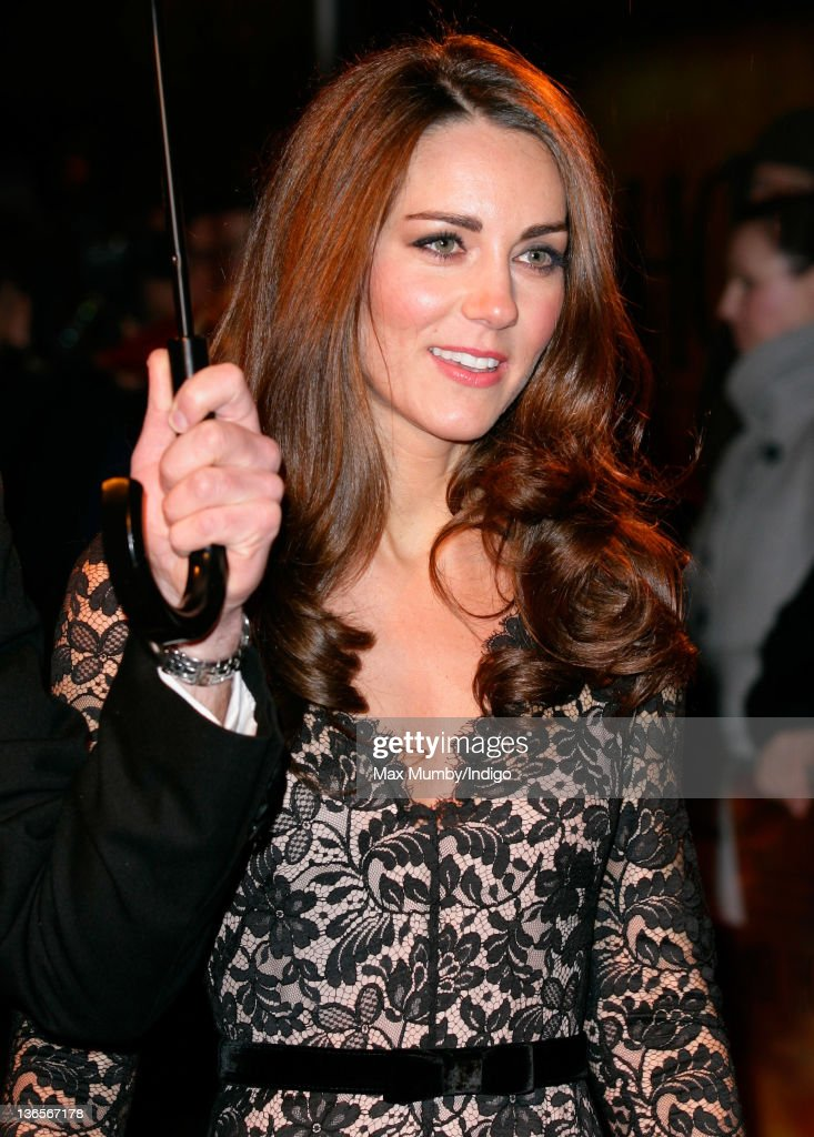 Catherine, Duchess of Cambridge attends the UK premiere of War Horse at Odeon Leicester Square on January 8, 2012 in London, England.
