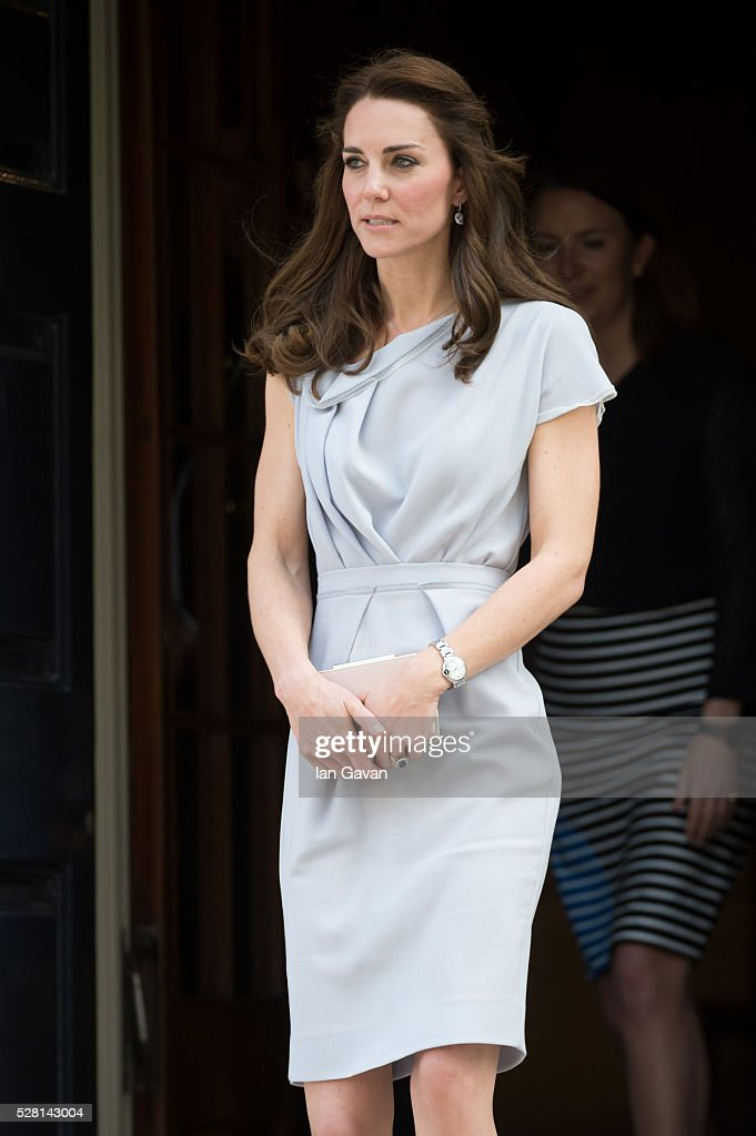 Catherine, Duchess of Cambridge departs after visiting the Anna Freud Centre on May 4, 2016 in London, England.