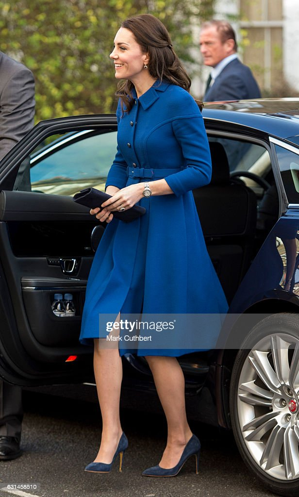 Catherine, Duchess of Cambridge during a visit to the Anna Freud Centre on January 11, 2017 in London, England.