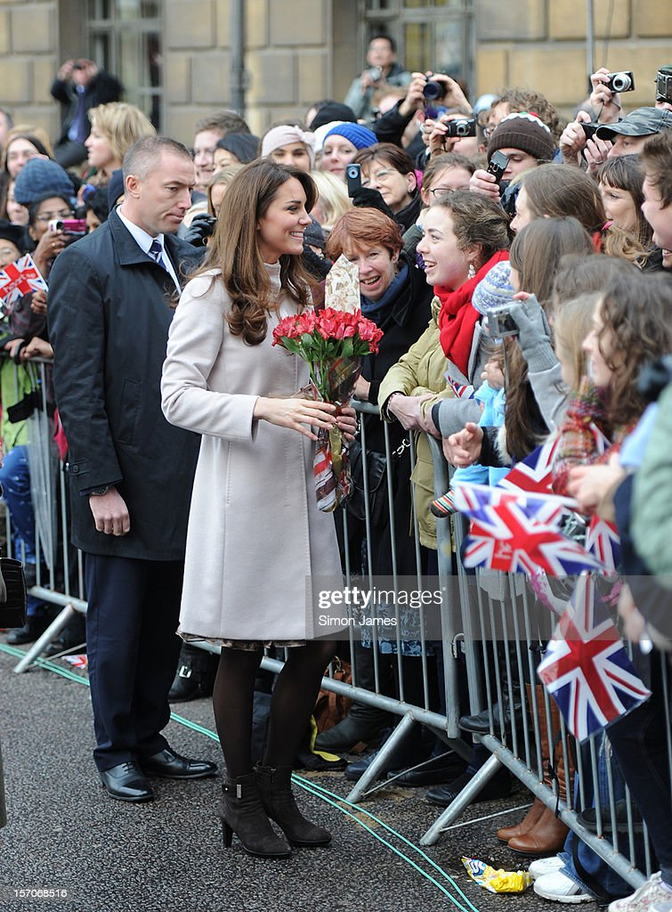 <a gi-track='captionPersonalityLinkClicked' href=/galleries/search?phrase=Catherine+-+Duchess+of+Cambridge&family=editorial&specificpeople=542588 ng-click='$event.stopPropagation()'>Catherine</a>, Duchess of Cambridge during an official visit to Cambridge on November 28, 2012 in Cambridge, England.
