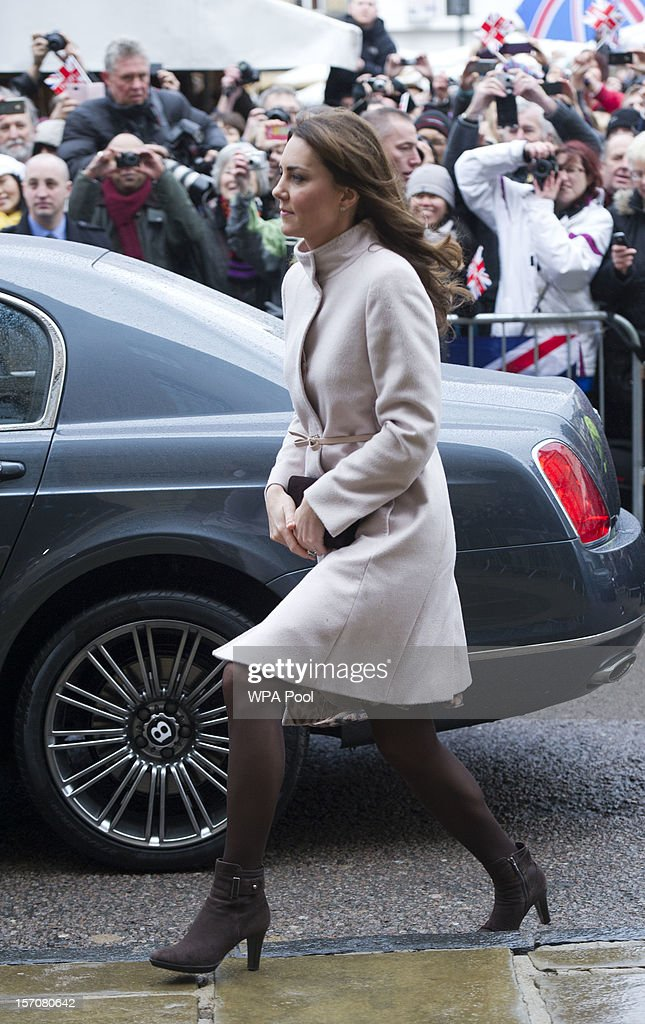 Catherine, Duchess of Cambridge during an official visit to the Guildhall on November 28, 2012 in Cambridge, England.