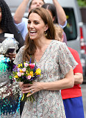 The Duchess Of Cambridge Joins Photography Workshop...