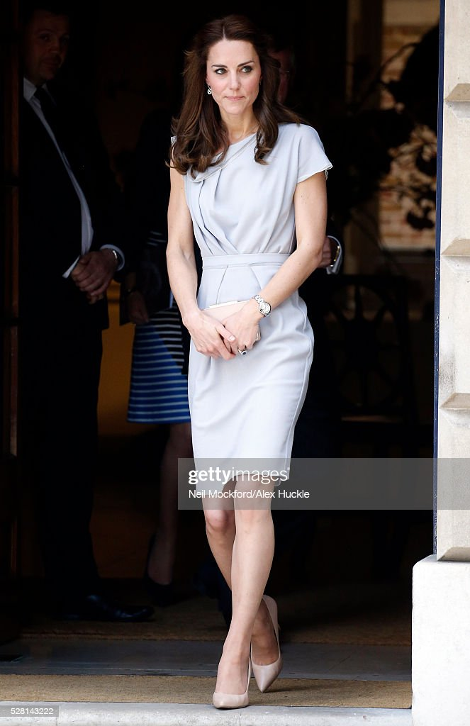 <a gi-track='captionPersonalityLinkClicked' href=/galleries/search?phrase=Catherine+-+Duchessa+di+Cambridge&family=editorial&specificpeople=542588 ng-click='$event.stopPropagation()'>Catherine</a>, Duchess of Cambridge leaves Spencer House after a lunch in support of the Anna Freud Centre on May 4, 2016 in London, England.