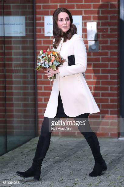 Catherine Duchess of Cambridge leaving the Hornsey Road Children's Centre on November 14 2017 in London England