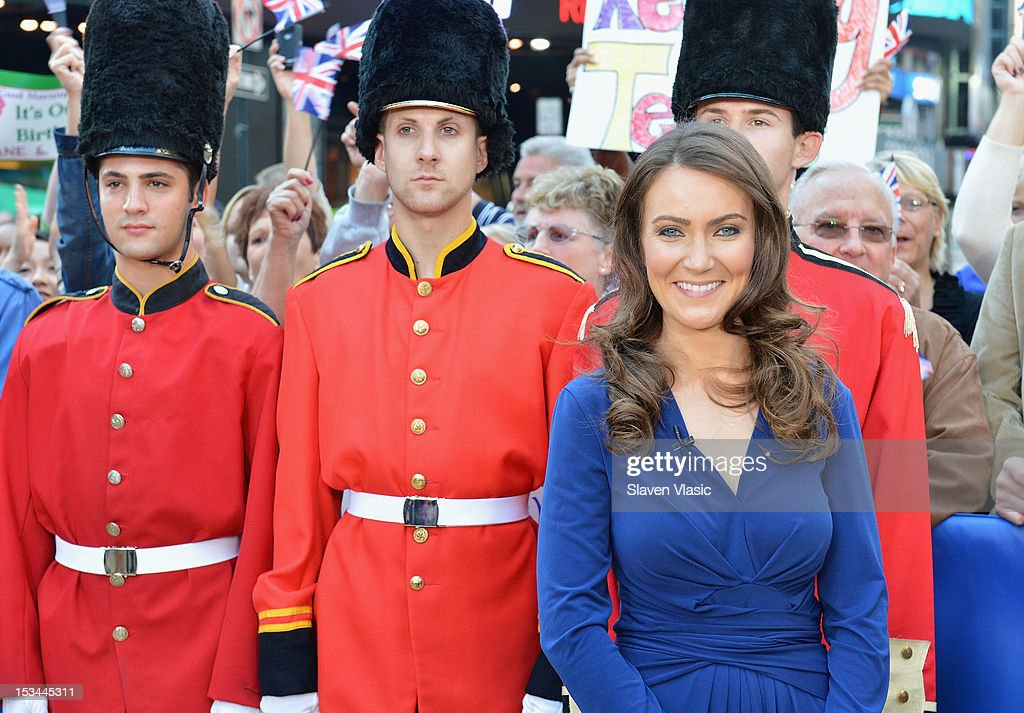 Catherine Duchess of Cambridge lookalike Heidi Agan a 32yearold mom from Corby Northamptonshire England visits ABC's 'Good Morning America' at ABC...